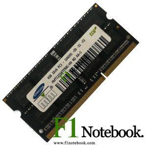رم لپ تاپ 1333 DDR3 PC3 10600S MHz ظرفیت 4 گیگابایت
